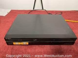 Sony DVD/VHS Combo RDR-VXD655