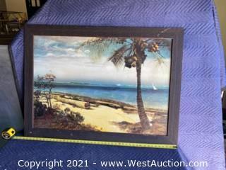 Z-Gallerie Bierstadt Tropical Coast