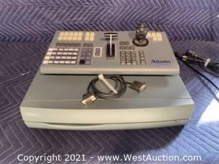 Aladdin Control Panel And Pinnacle Media Printer - Pinwood PJ02 And Pinnacle 102350N-CNT