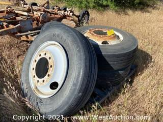 (4) Assorted Tires