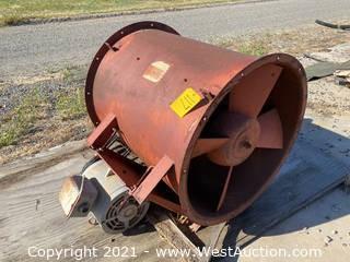 Industrial Fan With Motor