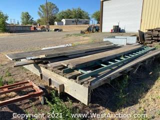 Bulk Lot Of Lumber; Various Types And Sizes