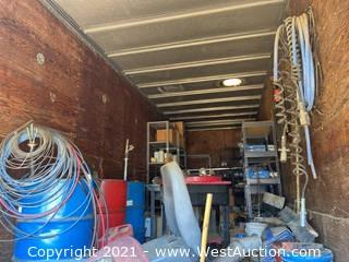 Contents Of 26' Enclosed Trailer
