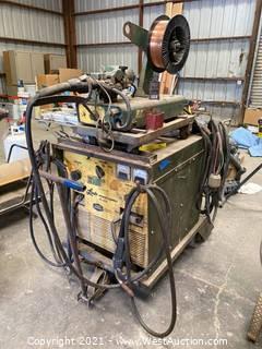 Linde VI-252 Welder Power Supply With Welder Attachment