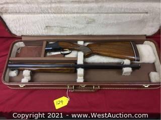 Browning Superposed O/U 28GA. Skeet Gun W/ Hard Case. Made In Belgium