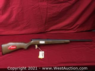 ''New'' Savage (left Handed) Mod. R93R17 Heavy Barrel In .17HMR Cal.