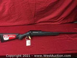 ''New'' Ruger American Bolt Action In .243 Win. Cal.