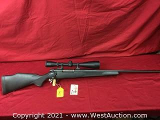 Weatherby Mark 5 W/ High Power Nitrex Scope In .340 Wby. Cal. (as New)