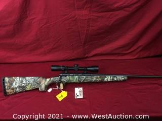 Savage Axis Bolt Action W/ Scope In 22-250 Cal. (as New)