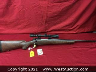 Winchester Mod. 70 Bolt Action In .270 Win. Cal. With Scope (as New)