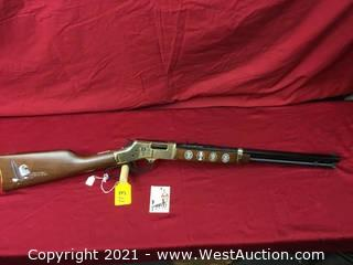 Henry Golden Boy Commemorative Boy Scouts 100 Yr Anniversary, Engraved,In .44 Magnum