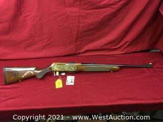 Browning BAR Rocky Mountain Elk Foundation Gun Fully Engraved W/ Gold Finish 30-06 Semi Auto