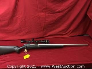 Remington Mod. 40X W/ Leupold Scope In 22-250 Cal.
