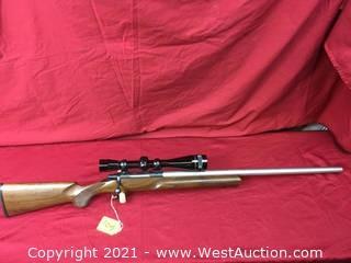 Cooper Mod. 21 W/ Leupold 12x Scope In .222 Rem. Cal.