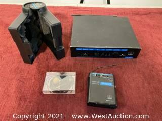 AKG Wireless SR300 And PT300