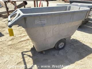 Rubbermaid Dump Cart