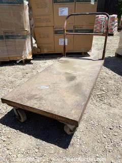 5' Steel Push Cart