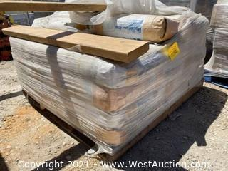 Pallet of MasterFlow 4316 Grout