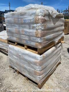 (2) Pallets of MasterFlow 4316 Grout