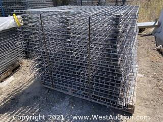 (23) 3-channel Wire Mesh Decking for Pallet Racking
