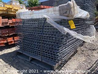 (20) 3-channel Wire Mesh Decking for Pallet Racking