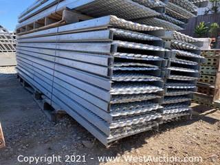(44) 12' Steel Platforms