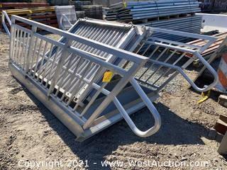 EZ-Access Aluminum Staircase & (2) Platforms