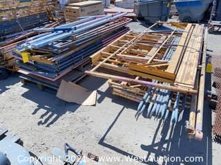(2) Pallets of Assorted Scaffolding