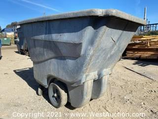 Rubbermaid 1/2 Cubic Yard Dump Cart
