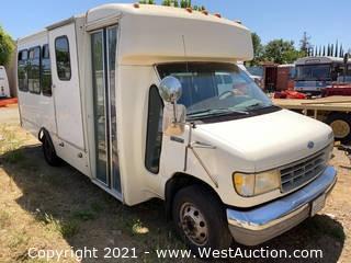 1993 Ford E350 Shuttle Bus