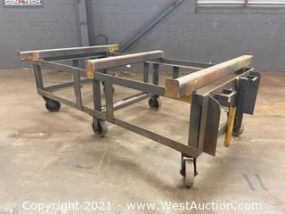 6' Heavy Duty Rolling Cart