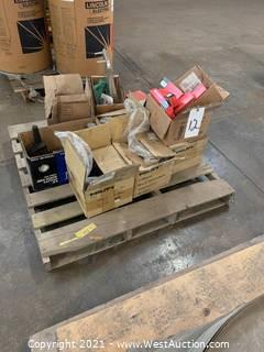 (5) Boxes Of Screws And Assorted Materials