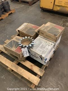 Pallet Of (9) Assorted Boxes Of Welding Wire
