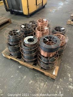 """Pallet Of Used Welding Wire .052"""" & .035"""""""