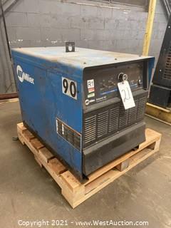 Miller Deltaweld 452 CV-DC Welding Power Source With Water Cooler
