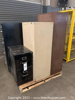Assortment Of 4 Drawer And 2 Drawer File Cabinets