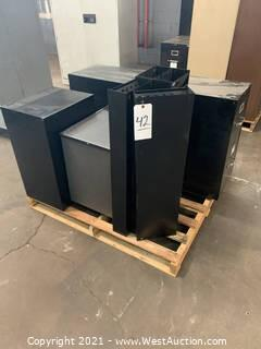 Pallet Of File Cabinets And Folder Organizers