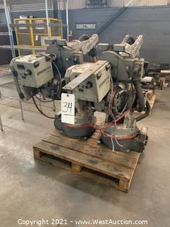 Motoman Robotic Welding Arms And Controls
