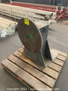 Welding Rotator Headstock