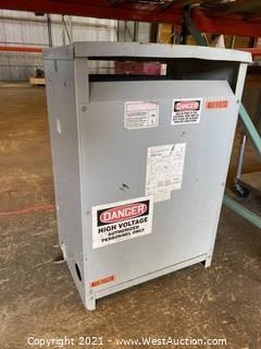 Cutler-Hammer Dry Type Distribution Transformer
