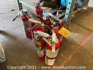 (9) Fire Extinguishers