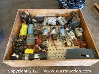 Crate With Pumps/Machine Parts