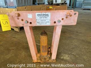 Central Hydraulics 12 Ton Pipe Bender