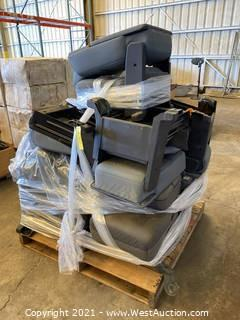 Pallet Of Vehicle Seats And Center Consoles