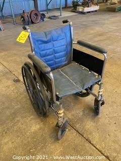 Tracer EX2 Wheelchair With Tank Mount