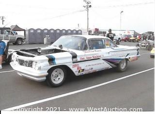 1960 Pontiac Ventura Drag Racing Car