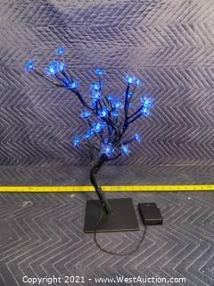 """(29) LED Tree Centerpieces - Approx 18"""" Tall"""