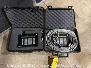 (2) Remote Focus Units In Cases
