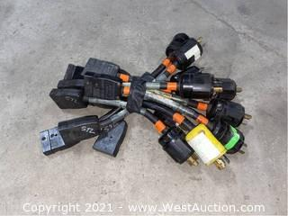 Assorted Stage Pin Adapters