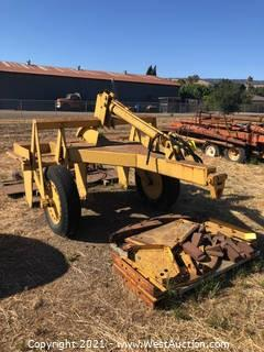 Ripper Farm Implement With Attachment And Accessories